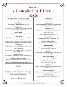 Campbells Dinner